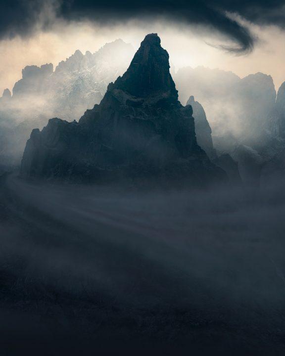 dramatic mountain photo of Kaçkar Mountains
