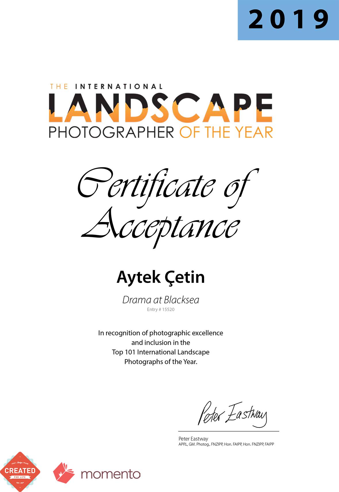 Aytek ÇetinLPOTYAwardCertificate2019_05 (1)